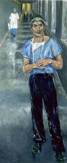 Title: Dr Charlie Teo, Subject: Dr Charlie Teo, Artist: Sue Taylor