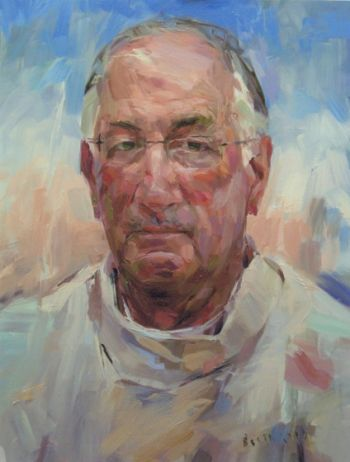 Title: Rev. Dr Peter Carnley, Subject: Rev. Dr Peter Carnley, Artist: Bob Booth