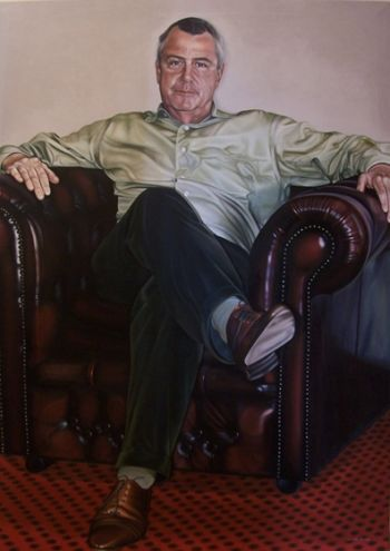 Title: William Porteous, Subject: William Porteous, Artist: Melinda Mackay