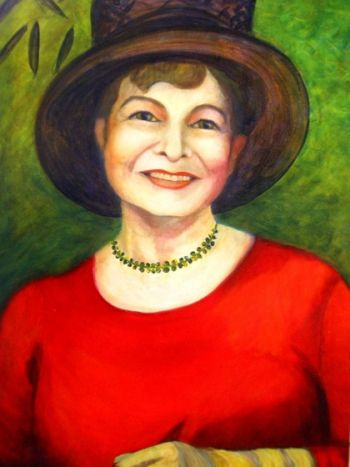Title: Rosalind, Subject: Rosalind Fry, Artist: Haddy Somers