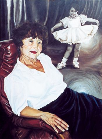 Title: Our Shirley, Subject: Libe Yvonne Thatcher, Artist: Maia Martin