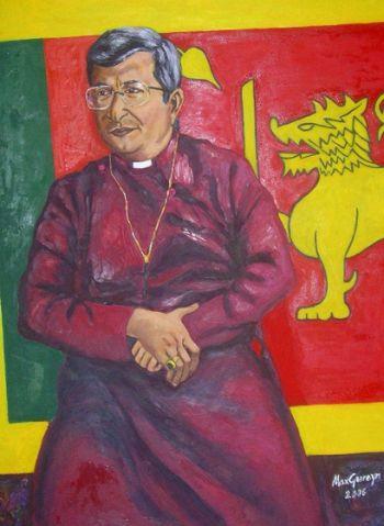 Title: Anglican Archbishop of Western Australia, Subject: Roger Herft, Artist: Max Gerreyn