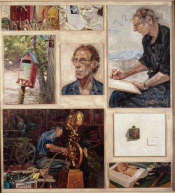 Title: Hans Arkveld, Subject: Hans Arkveld, Artist: Peter Kendall