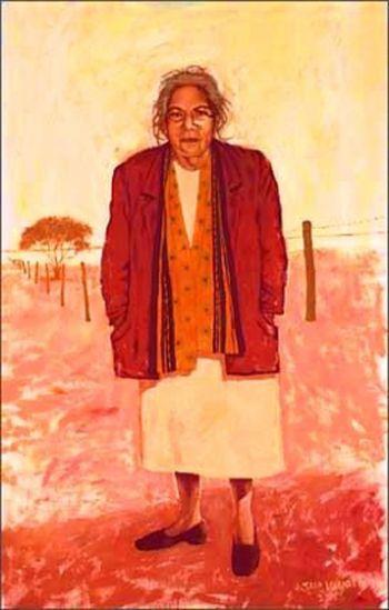 SMH. Archibald 2003. Susan Wyatt. Doris Pilkington