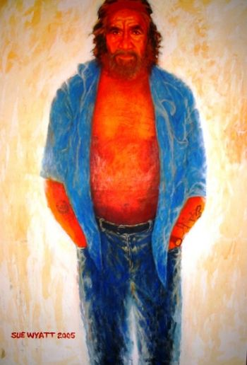 Title: Brian Wyatt, Subject: Brian Wyatt, Artist: Sue Wyatt