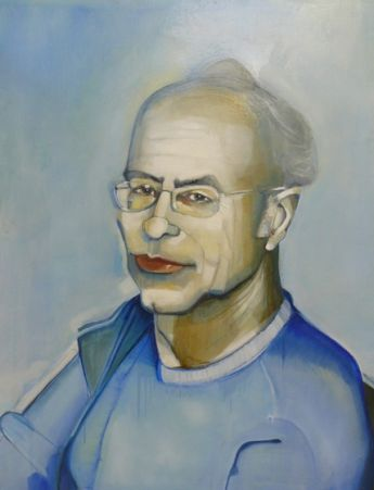 Title: Peter Singer, Subject: Peter Singer, Artist: Richard Butler-Bowden