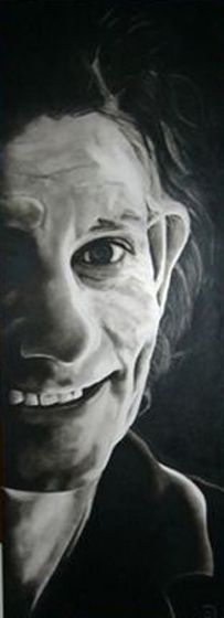 Title: Shane Calegari, Subject: Shane Calegari, Artist: Stephen Delaney
