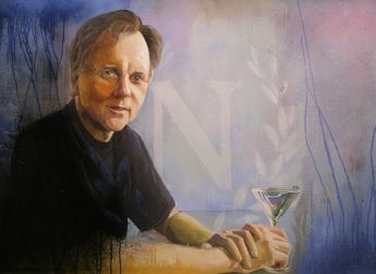 Title: Dr Barry Marshall - Nobel Laureate, Subject: Dr Barry Marshall, Artist: Matthew Jackson