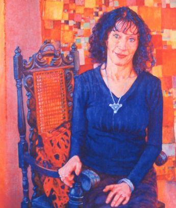 Title: Jeannie Baker, Subject: Jeannie Baker, Artist: Kristal del Villar