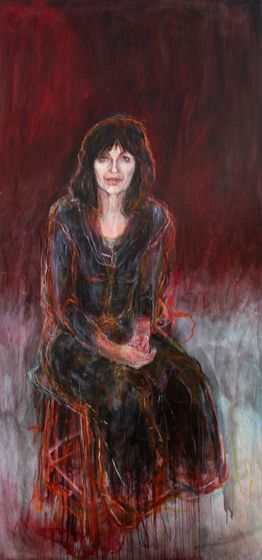 Title: Joan London, Subject: Joan London, Artist: Angela Stewart