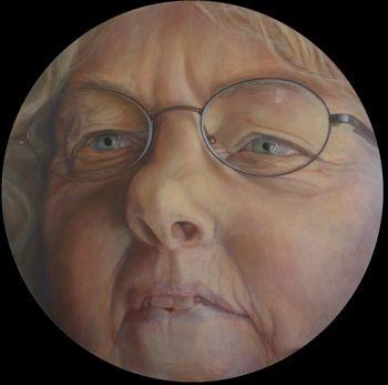 Title: Planet Jo, Subject: Jo Vallentine, Artist: Jeff Bryant