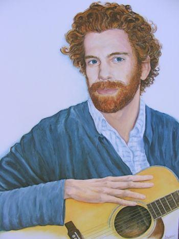 Title: Roderick Cairns, Subject: Roderick Cairns, Artist: Lynne Cairns