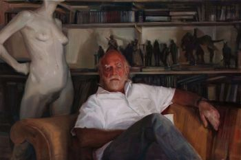 Title: The Maker of Things, Subject: Peter Corlett, Artist: Dagmar Cyrulla