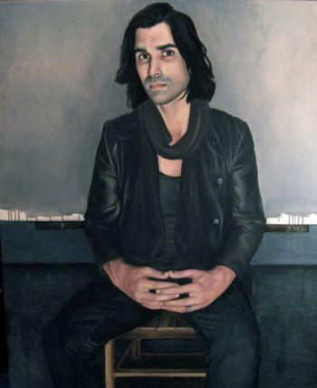 Title: The Artist Stormie Mills, Subject: Stormie Mills, Artist: Matthew Doust