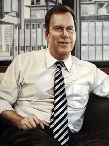 Title: The Attorney General, Subject: The Hon Robert McClelland MP, Artist: Kathrin Longhurst