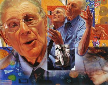 Title: Richard Larter (Klimt Australia), Subject: Richard Larter, Artist: Kim Nelson