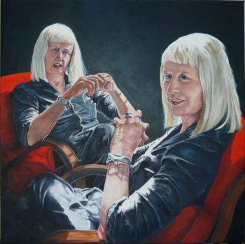 Title: More Moore, Subject: Margaret Moore, Artist: Jane Pestell Litten