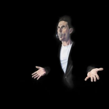 Title: Wil of God, Subject: Wil Anderson, Artist: Matthew Quick