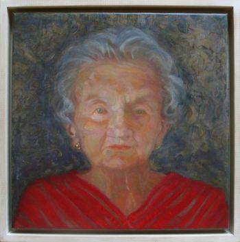 Title: Lady Sheila Cruthers, Subject: Lady Shiela Cruthers, Artist: Kirstine Sadler