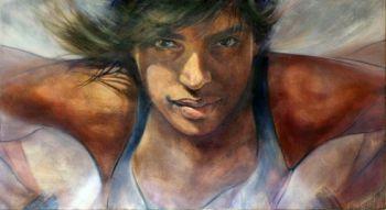 Title: Spirit in Motion, Subject: Madison De Rozario, Artist: Barbara Shipway