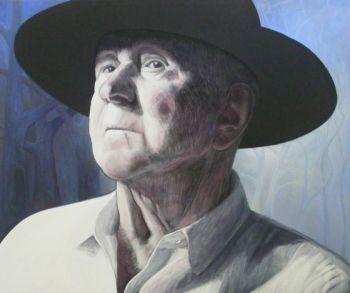 Title: Yung Arthur, Subject: Arthur Russell, Artist: Peter Usher