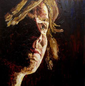 Title: Kevin Mitchell AKA Bob Evans, Subject: Kevin Mitchell, Artist: Jodie Wells