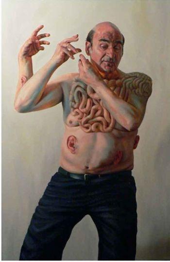 Title: Stelarc 2010, Subject: Stelarc, Artist: Andrew Forsythe