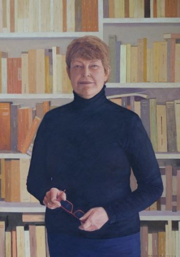 Title: Professor Lyndall Ryan, Subject: Lyndall Ryan, Artist: Greg Somers