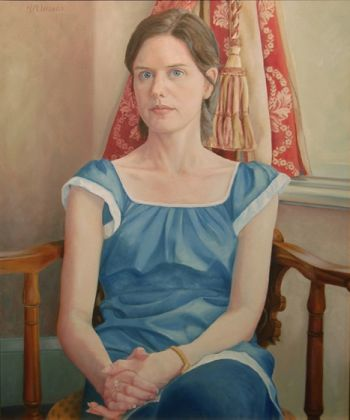 Title: Francesca, Subject: Francesca Mathews, Artist: Helen Wilson