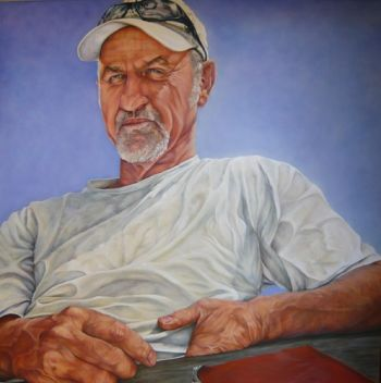 Title: James, Subject: James Bogle, Artist: Jane Pestell-Litten