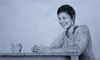 Title: Narelda Jacobs, Subject: Narelda Jacobs, Artist: Brad Durrant