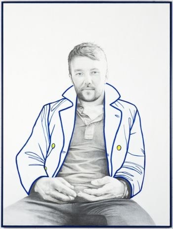 Title: Joel Edgerton, Subject: Joel Edgerton, Artist: Carla Fletcher