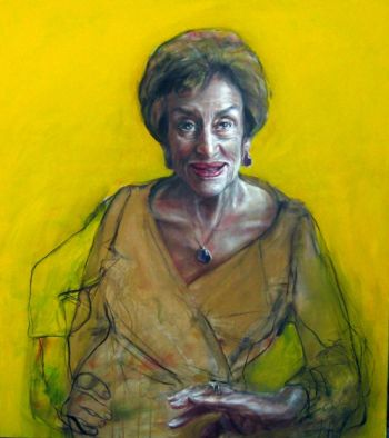 Title: Pearl, Subject: Pearl Goldman, Artist: Esther Erlich