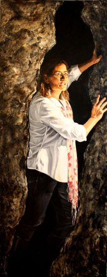 Title: Catherine, Subject: Catherine Crock, Artist: Jacqui Grantford
