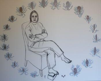 Title: My Mum, Philippa Nikulinsky, Subject: Philippa Nikulinsky, Artist: Michael Nikulinsky