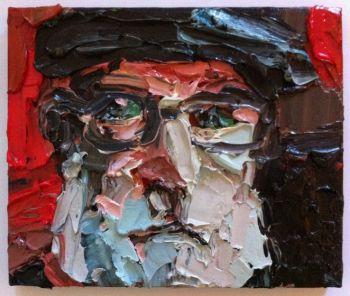 Title: Portrait of David, Subject: David Bromfield, Artist: Cynthia Ellis