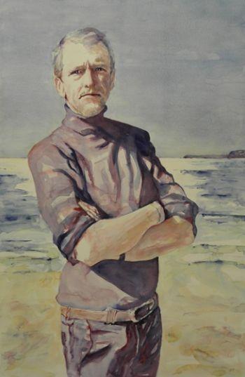Title: Tony Bonner - in the Frame, Subject: Anthony Frederick Bonner (Tony), Artist: Dee Jackson