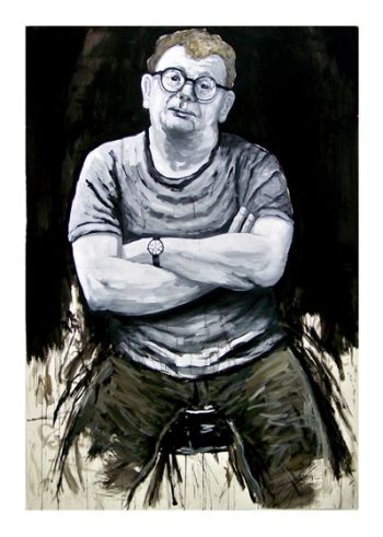 Title: Portrait of Bernard, Subject: Bernard Ollis, Artist: Garry Foye