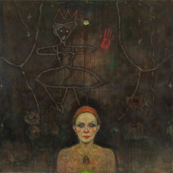 Title: Bloodshot Nocturne, Subject: Self Portrait, Artist: Gaye Chapman