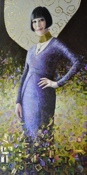 Title: Claudia, Subject: Claudia Chan Shaw, Artist: Helen Edwards