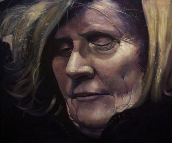 Title: Always This Moment of Doubt, Subject: Karen Carey, Artist: Keith Betts