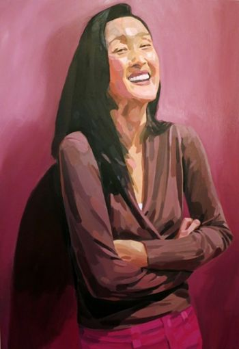 Title: Dr Cindy Pan, Subject: Dr Cindy Pan, Artist: Mark Tweedie