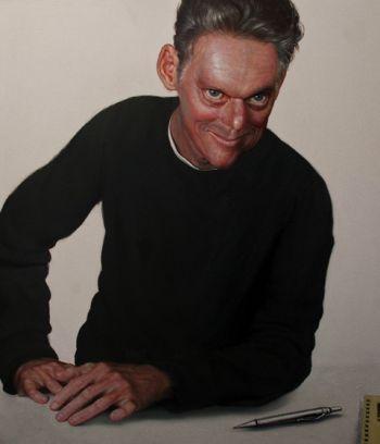 Title: Portrait of Matthew Martin, Subject: Matthew Martin, Atist: Neil Moore