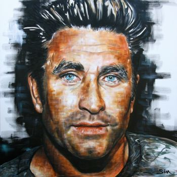 Title: Mr Murray, Subject: Pete Murray, Artist: Sim Campbell-Pope