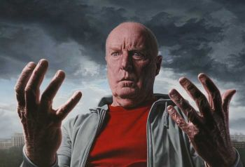 Title: Introspection - Portrait of Ray Meagher, Artist: Joel Rea, Subject: Ray Meagher