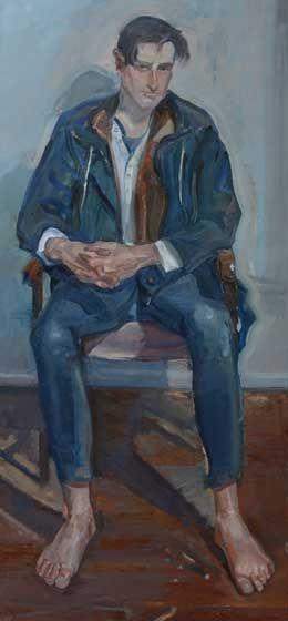 Title: Sebastian, Artist: Peter Wegner, Subject: Sebastian Haquin