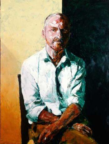 Title: Between Ireland and Australia, Artist: Ron Penrose, Subject: John Cunningham
