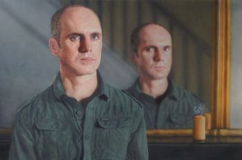 Title: Mirror Mirror, Artist: Todd Simpson, Subject: Self Portrait