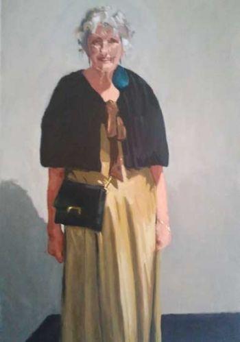 Title: Madame Butterflies, Artist: Liz Stute, Subject: Jessie Stute