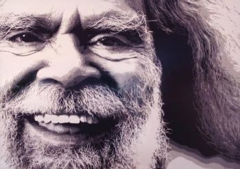 Title: Uncle Jack, Artist: Luke Cornish, Subject: Jack Charles